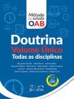 Série Método de Estudo OAB - Doutrina - Volume Único - Todas as Disciplinas