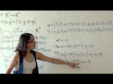 Álgebra Linear: Transformações Lineares (parte 1 de 4)