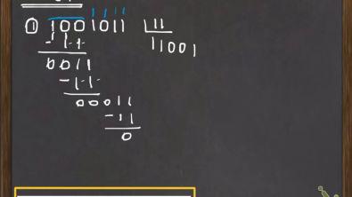 Números Binários: multiplicação e divisão