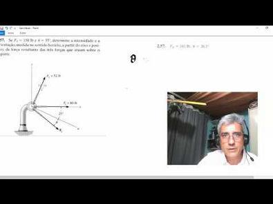 2.57 - Estática mecânica para engenharia Hibbeler 10ª Ed
