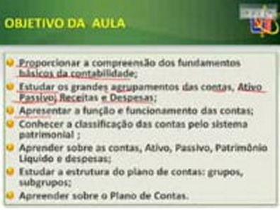 Video Aula Contabilidade Geral Aula 07-03-14