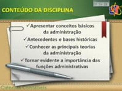 Aula 1 Fundamentos da Administração 28-03-14 Ciências Contábeis