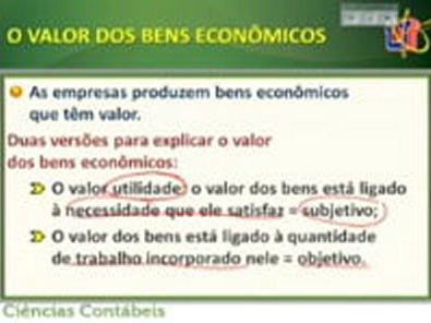 Vídeo Aula 3 - Economia
