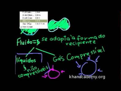 Física - Fluidos - parte 1 (Khan Academy)