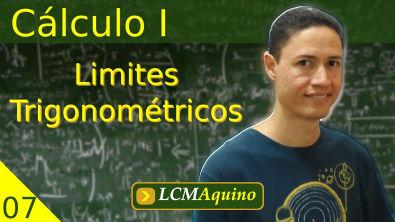 07. Cálculo I - Limites Trigonométricos