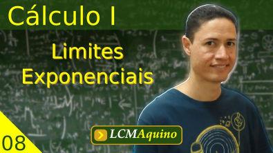 08. Cálculo I - Limites Exponenciais