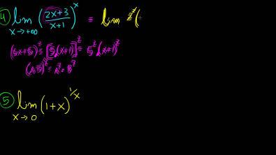 Limite fundamental exponencial - Exercicios exemplos resolvidos [nivel 2]