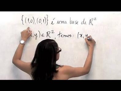 Álgebra Linear: base de um espaço vetorial