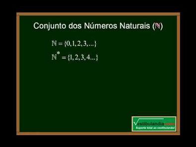 Matemática - Aula 2 - Conjuntos Numéricos - Parte 1