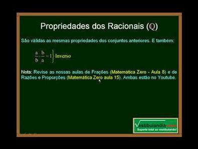 Matemática - Aula 2 - Conjuntos Numéricos - Parte 2