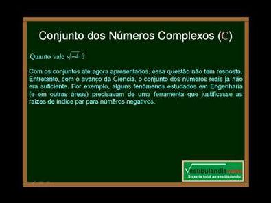 Matemática - Aula 2 - Conjuntos Numéricos - Parte 3 - Final