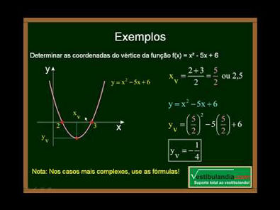 Matemática - Aula 5 - Função do Segundo Grau - Parte 6