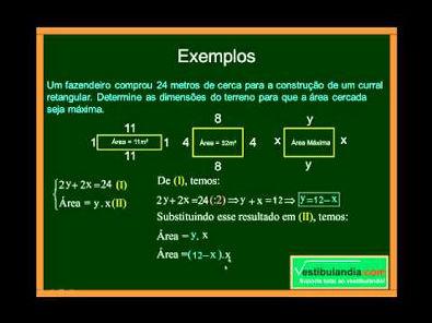 Matemática - Aula 5 - Função do Segundo Grau - Parte 7 - Final