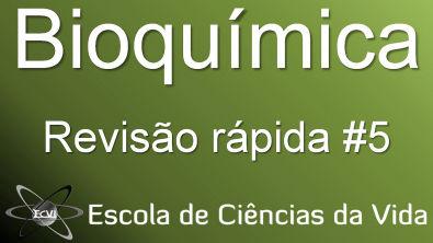 Revisão rápida de bioquímica: gliconeogênese