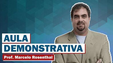 Vídeo 01 - Questões Comentadas de Língua Portuguesa - Prof. Marcelo Rosenthal
