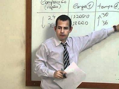 Matemática Financeira - Aula 2 - Regra de três composta