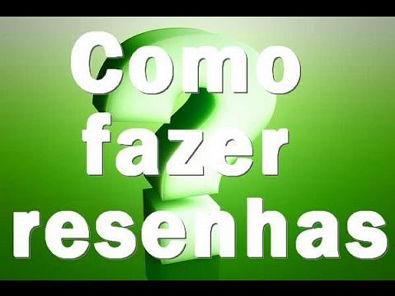 COMO ESCREVER UMA RESENHA - Revista Veja