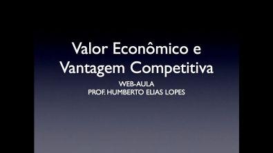 Valor Econômico e Vantagem Competitiva
