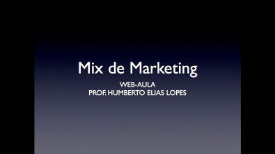 Web-aula 2 - Mix de marketing - Administração Estratégica e Logística PUC Minas Virtual