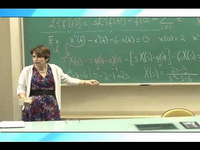 Cálculo III - Transformada da Derivada e da Integral; Frações Parciais - Parte 2