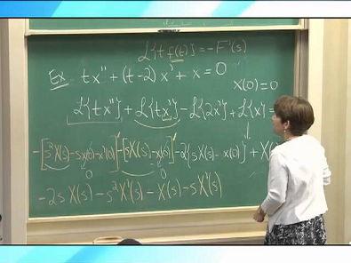 Cálculo III - Derivada e Integral da Transformada; Integral de Convolução - parte 2