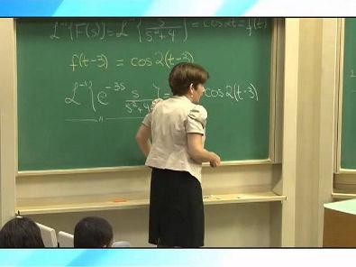 Cálculo III - Equações sob Ação de Funções Descontínuas; Função Degrau; parte 1
