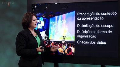 Informática - Aula 14 - Recursos necessários para apresentações públicas