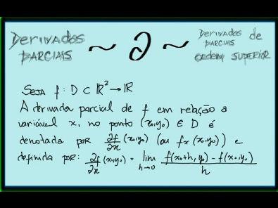 Cálculo II - Derivadas parciais