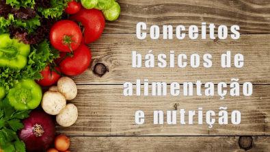 Conceitos básicos de alimentação e nutrição