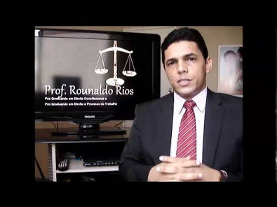 Aula 01 - Princípios do Direito do Trabalho - Prof. Rounaldo Rios