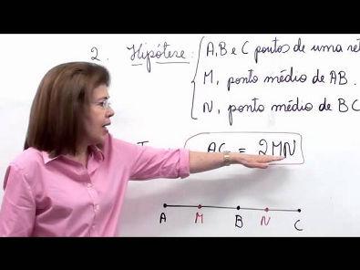 Geometria Plana: Exercícios sobre os axiomas iniciais (parte 1 de 2)