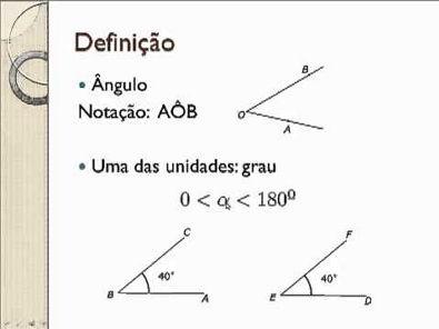 EAD - UFPE - Matemática - Geometria Plana - Aula 1