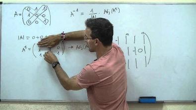 Matriz inversa, traspuesta y adjunta 2ºBACHI unicoos matematicas