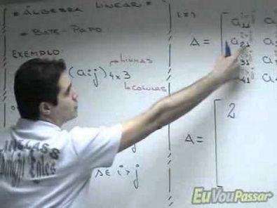 Aula 01 Álgebra linear