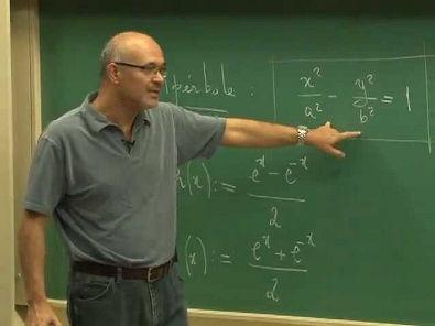 Cursos Unicamp: Cálculo 1 / aula 26 - Funções Hiperbólicas - parte 1