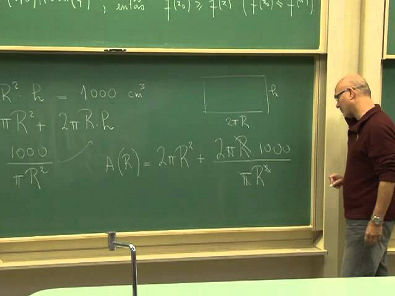 Cálculo 1 / aula 28 - Aproximações Lineares e Diferenciais - Valores Máximos e Mínimos - 1