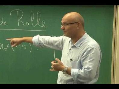Cursos Unicamp: Cálculo 1 / aula 31 - Teorema do Valor Médio - parte 2