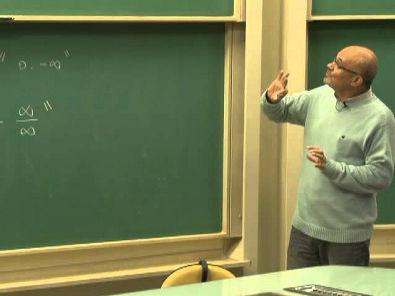 Cursos Unicamp: Cálculo 1 / aula 34 - Regra de L'Hôpital - parte 1