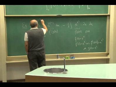 Cursos Unicamp: Cálculo 1 / aula 41 - Teorema Fundamental do Cálculo - parte 3