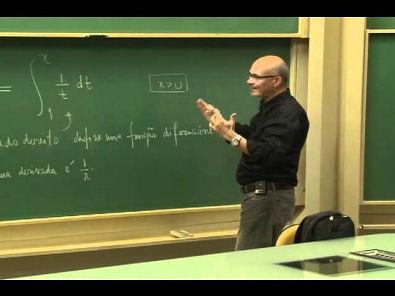 Cursos Unicamp: Cálculo 1 / aula 42 - O Logaritmo definido como uma Integral - parte 1