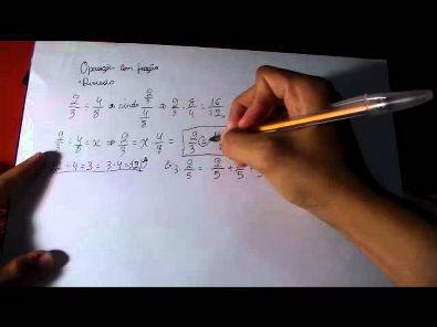 Sobre Matemática - Divisão de fração e provando a regra.