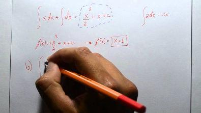 Cálculo I - Integrais 01