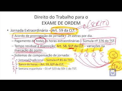 Direito do Trabalho para OAB - Parte 6/14 - Bruno Klippel