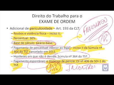 Direito do Trabalho para OAB - Parte 9/14 - Bruno Klippel