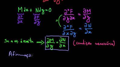 Modelagem com Equações Diferenciais: EDOs Exatas