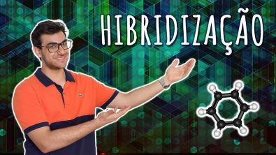 Química - Hibridização de orbitais - CARBONO