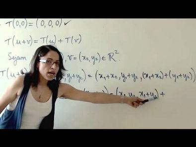 Álgebra Linear: Transformações Lineares (parte 2 de 4)