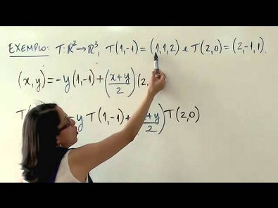 Álgebra Linear: Transformações Lineares (parte 4 de 4)