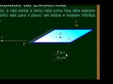 Matemática - Aula 65 - Geometria Espacial de Posição - Conceitos Iniciais - Parte 1