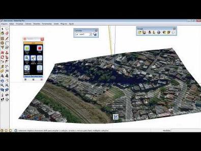 Obter topografia do Google Earth no SketchUp